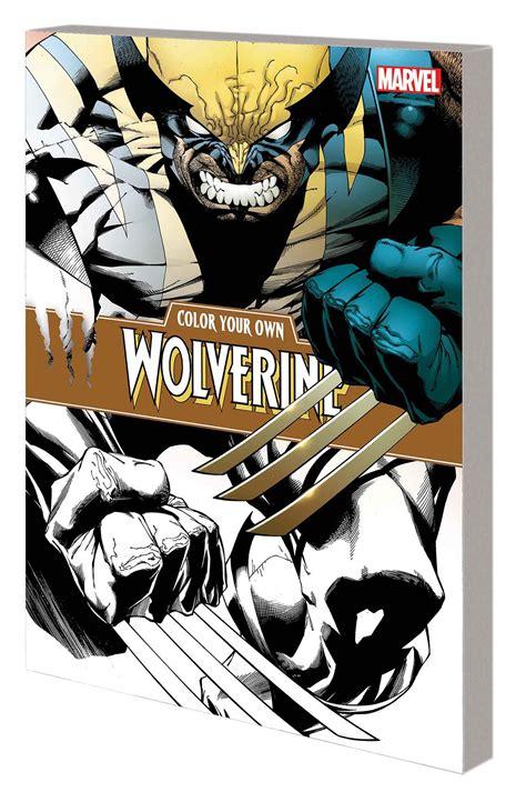 Color Your Own Wolverine Color Your Own Wolverine Fresh Comics