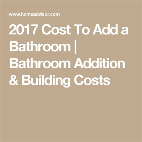 cost to add a bathroom 28 images how much does it cost