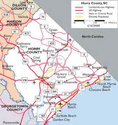map of myrtle south carolina myrtle places cities towns communities near