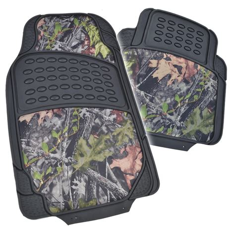 Camouflage Car Mats by Hd Rubber Floor Mats Camo Inlay 4pc Heavy Duty Car Truck