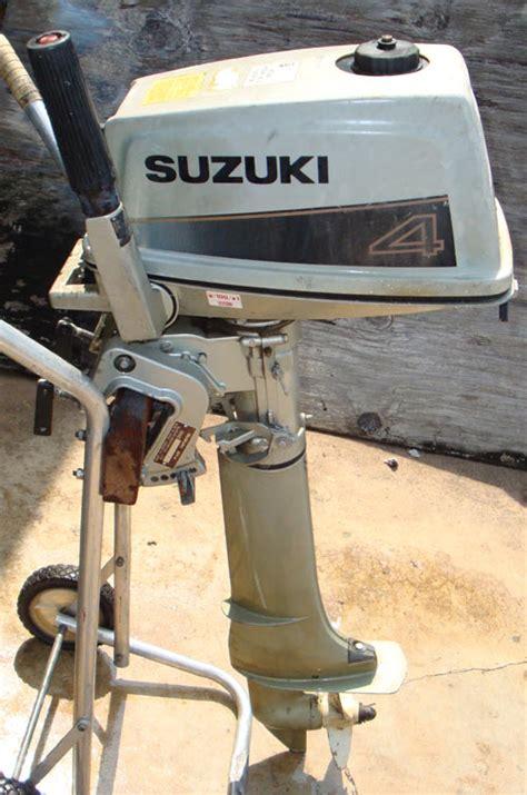 Suzuki Boat Motors Suzuki 4 Hp Outboard