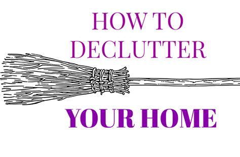 how to declutter your home www jocajic