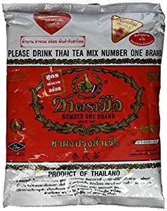 Thaitea Original 1 the original thai iced tea mix two bags number one brand imported from thailand 2 x 400g