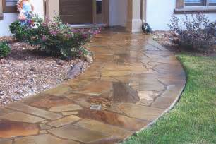 decorative concrete has become popular a a t