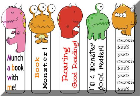 printable bookmarks for kids printable bookmarks for kids kiddo shelter