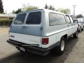 Buick Suburban 1990 Gmc Suburban
