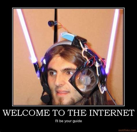 The Internet Meme - welcome to the internet know your meme