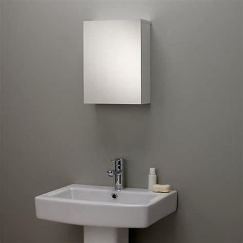 Buy John Lewis Gloss Single Mirrored Bathroom Cabinet