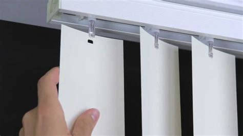 how to fix curtain blinds how to replace vertical blinds with curtains easy 6 step