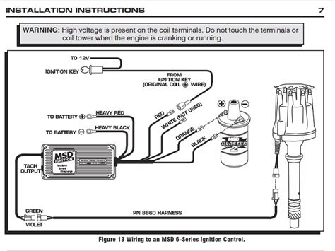 msd 8460 wiring diagram msd 8460 wiring diagram ford msd 6al wiring diagram billigfluege co