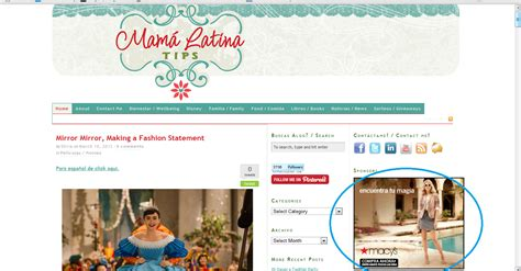 mama latina tips a bilingual blog for latinas and niche mommy news highlights the niche parent network