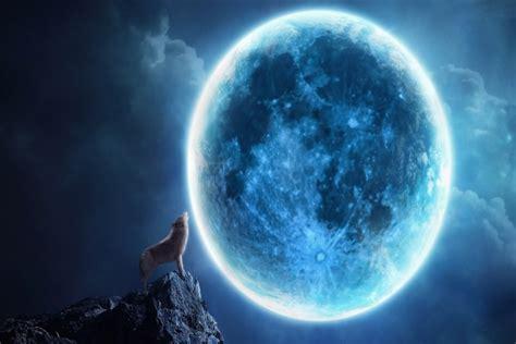 wallpapers luna llena por jomagabo fondos paisajes lobos aullando a la luna como fondo de pantalla imagui