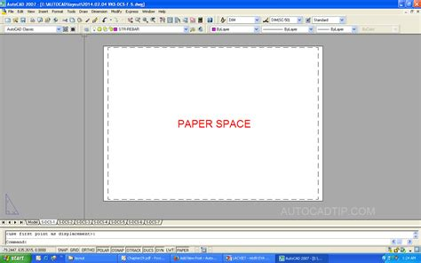 autocad layout model model space and paper space in layout autocad