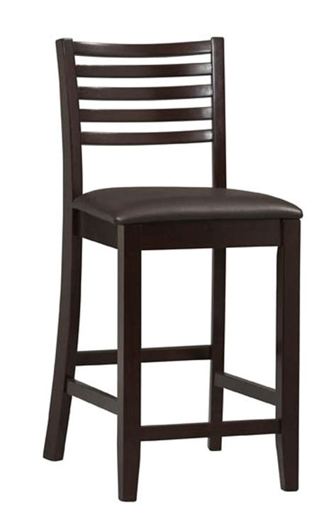 24 Inch Ladder Back Bar Stools by Triena 24 Inch Ladder Counter Stool In Wood Bar Stools