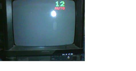 Tv Sharp Putih polytron gambar putih polos arjun service