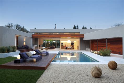 Backyard Living Pools Outdoor Living Modern Pool San Francisco By Dumican Mosey Architects
