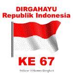 Kaos I Indonesia Putih Garuda Dirgahayu Hut Ri 71 17 An 2 bersyukur atas kemerdekaan ri gambar animasi berdera ri