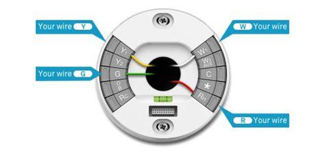 wire honeywell hea  nest  thermostat