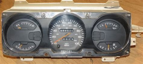 purchase dodge d150 d250 d250 ramcharger cummins instrument cluster speedometer low miles