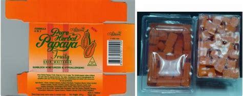 Sabun Papaya Thailand hati hati sabun betik papaya soap jenama ini kerana ada