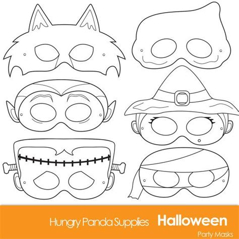 printable witch mask template halloween masks printable halloween costume halloween