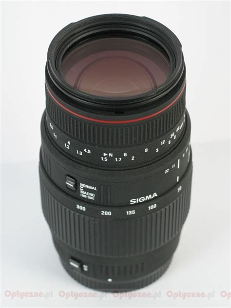 Sigma 70 300 Apo Dg lenstip lens review lenses reviews lens specification lenstip