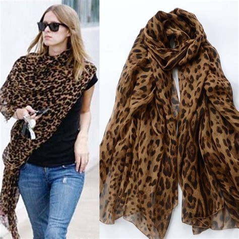 newly fashion soft animal leopard print