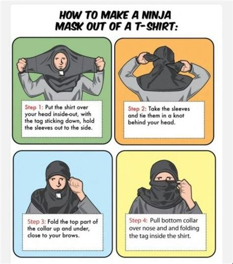 How To Make A T Shirt Out Of Paper - how to make a mask 3 for the boys