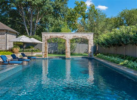 Backyard Pools Rockwall Dallas Pool Backyard Transformation Traditional Pool
