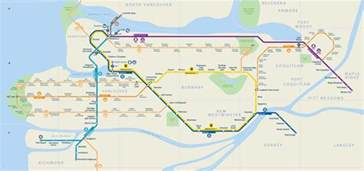 canada line stops map route rights and freedoms march