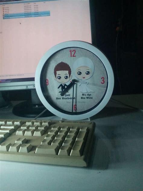 Jam Meja Karakter Kepala jual souvenir jam murah jakarta terbaru home