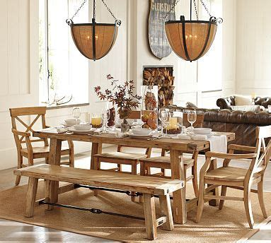 Pottery Barn Benchwright Table by Benchwright Dining Table Pottery Barn For The Home