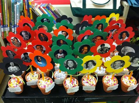 History Of Decorations by Black History Month Mini Centerpieces Mini Flower Pot
