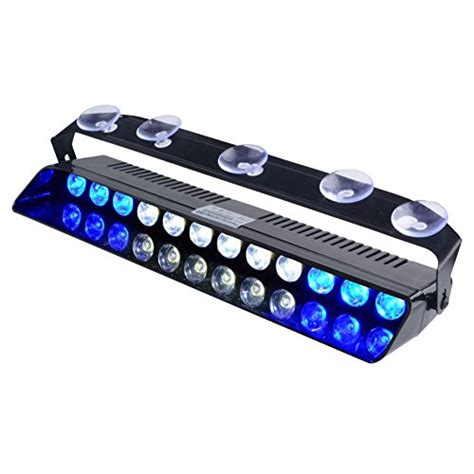 led emergency dash lights compare price emergency blue white lights on