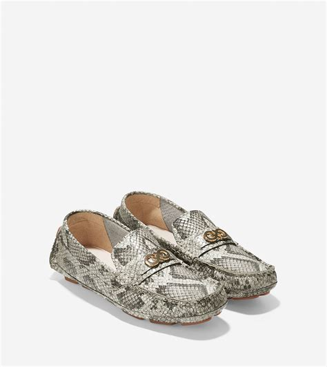 cole haan shelby loafers cole haan shelby driver in gray lyst