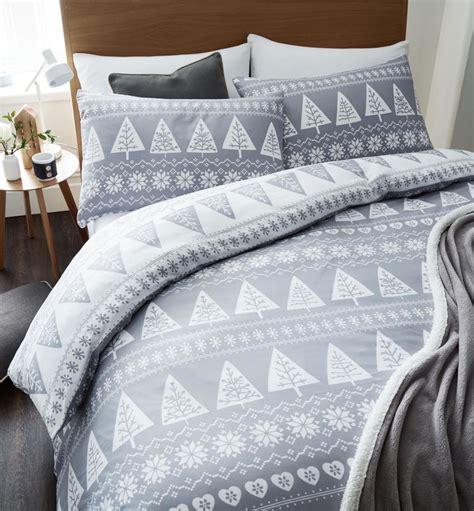 Bedcover Set Seprei Uk 200x200 quilt duvet cover bedding bed sets 5 sizes festive santa new ebay