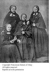 Franciscan Sisters of Mary: Heritage   Habits   Sisters