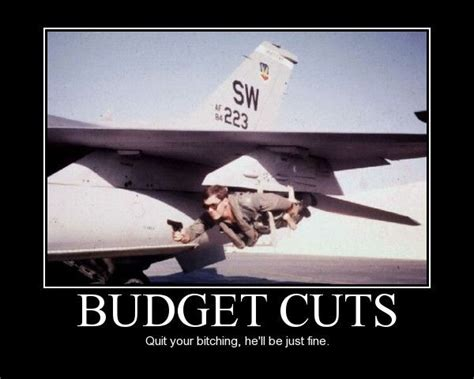 Funny Air Force Memes - military humor funny joke air force aircraft budget cuts