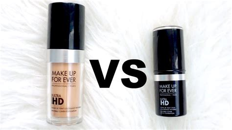 Makeup Forever Cover makeup forever invisible cover foundation vs stick
