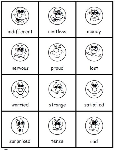 printable emotion flashcards for toddlers how do you feel emotions activities printable kindergarten