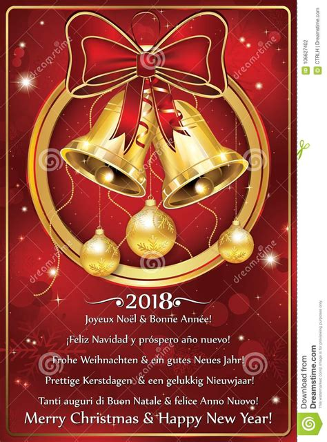 merry christmas  happy  year  written   languages greeting card   winter