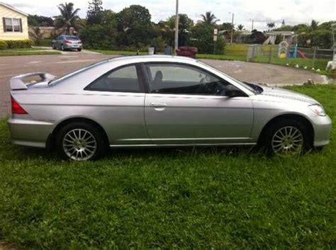 2005 honda civic 2 door coupe find used 2005 honda civic lx coupe 2 door 1 7l in miami