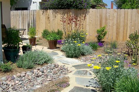 water wise landscape plans concrete patio drainage