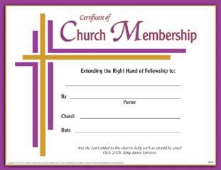 best photos of church membership certificate template