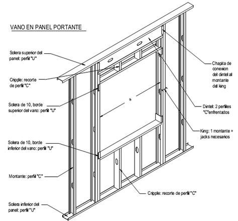 que es un frame layout construcci 243 n con acero liviano 4 3 vanos consul steel