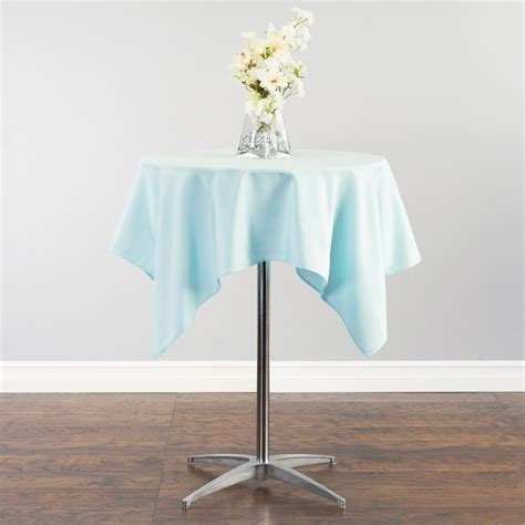 Square Polyester 54 in square polyester tablecloth