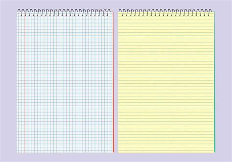 vector notebooks templates free vector