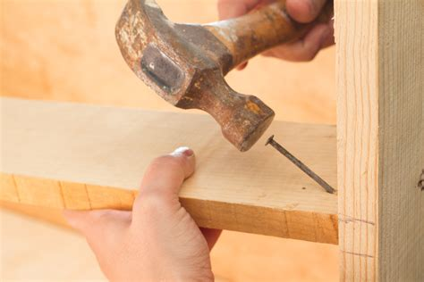 how to fix pictures to wall without nails how to toenail wood 4 steps with pictures wikihow