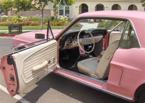 Car Home Decor by Passionate Pink Pink 1968 Ford Mustang Color Of The