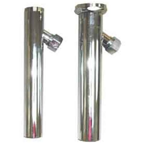 Ppp Plumbing by Drains Traps Trap Primers Wal Rich 174 0117204 2 1 2 Quot X 8 Quot 17 Chrome Plated Tubular Trap